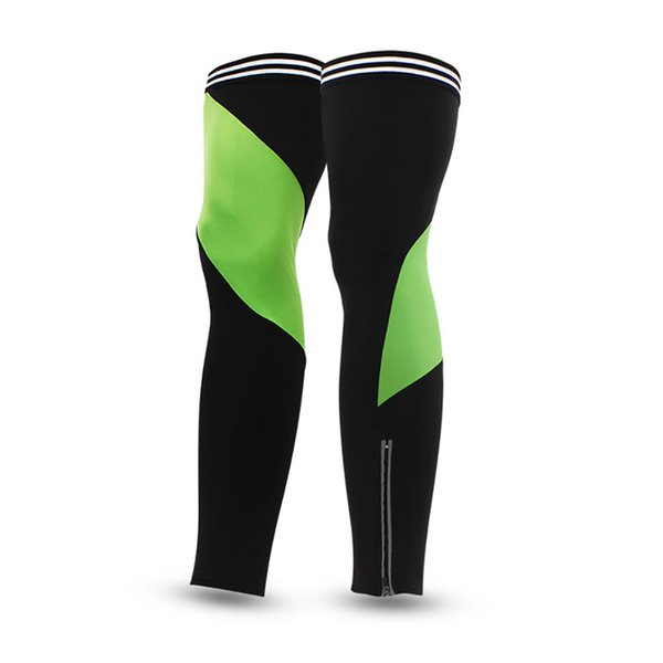 Cycling leg sets Outdoor Sports Breathable Sunscreen Protector Fleece Warm bike leg sleeve Bicycle Protective Gear Red/Green/Black M/L/XL