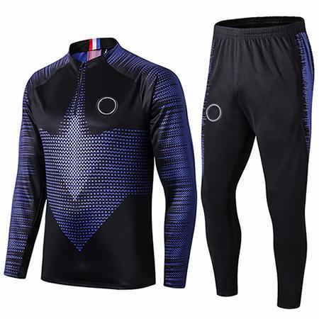 best selling 2019 20 Paris training suit 2 Stars tracksuit de vêtements veste de pied GRIEZMANN veste Combinaison d'entraînement TAILLE S-XL