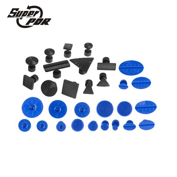 Ensembles d'outils d'outils à main Sets 12/18/30 pcs Professional colle Tabs Outils RDP Kit de haute qualité voiture Paintless Outils de réparation Dent Set d'or