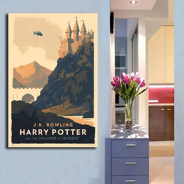 Harry Potter Wall Art Painting