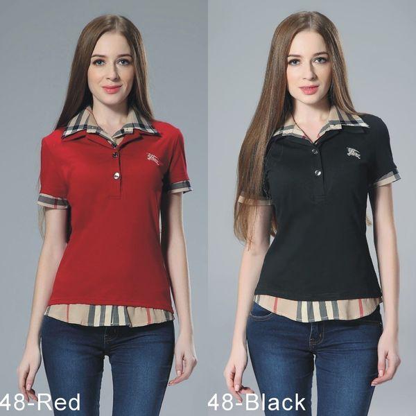 2019 high-end explosion modelle baumwolle damen t-shirt mode wilden kurzarmhemd weiblich