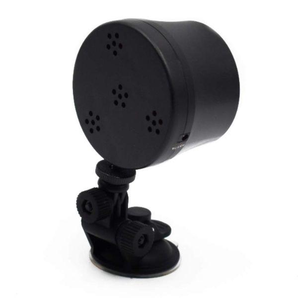 6-Color Car Interior Light Voice Control Mini Music Rhythm Sound Disco DJ Stage LED RGB Ball Lamp Practical Flash Lamp Strobe Atmosphere lig