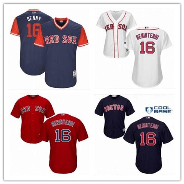 low priced e34f0 1ae81 2019 2018 Boston Red Sox Jerseys #16 Andrew Benintendi Jerseys  Men#WOMEN#YOUTH#Men'S Baseball Jersey Majestic Stitched Professional  Sportswear From ...