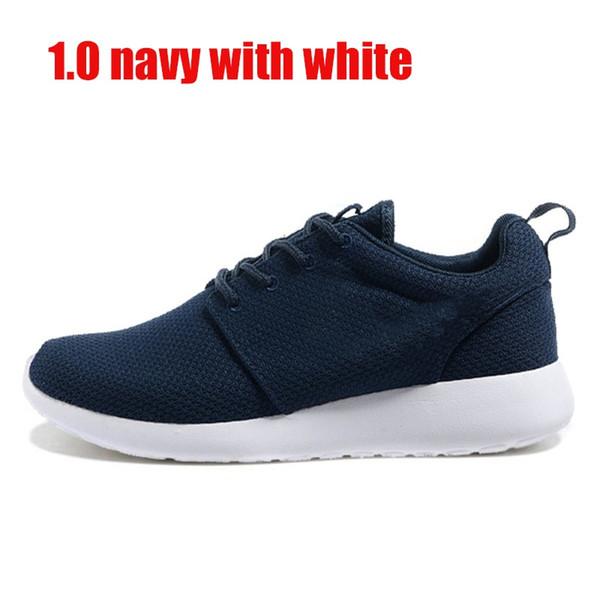 1.0 azul marino con el símbolo blanco 36-45