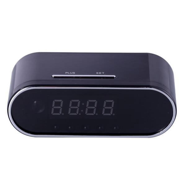 EDAL 1080 P H.264 Tafel Klok Camera Alarm Instelling Mini Camera IR Nachtzicht Wifi Cam IP Klok Camera Mini DV DVR Camcorder