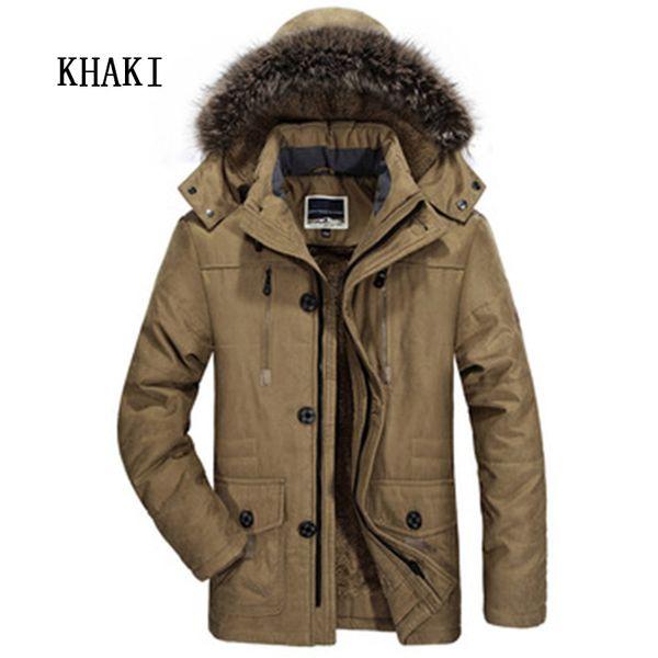 Бомбардировщик Куртки Пальто Мужчины Одежда Плюс Velvet сгущает зима теплая ветровка с капюшоном Мужские пальто куртки ветровки Мужчина