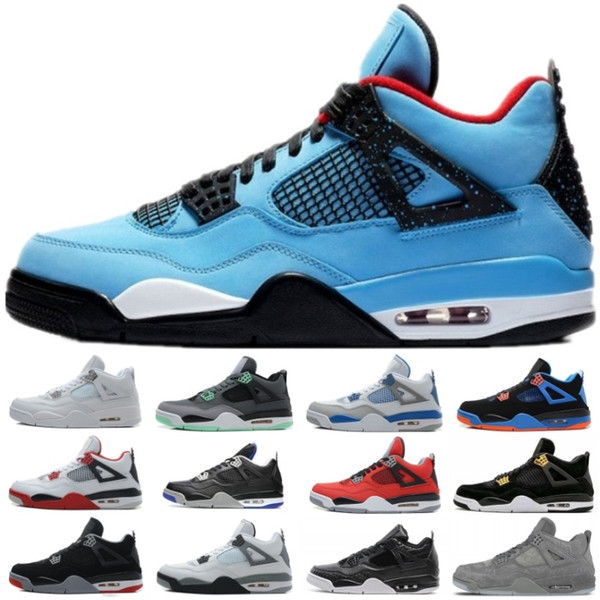 58703bae155 Mens 4 IV Alternate 89 Bred Pure Money Motorsports Royalty Basketball Shoes Classic  4s White Cement