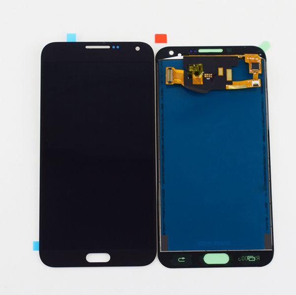 E7 OLED-siyah
