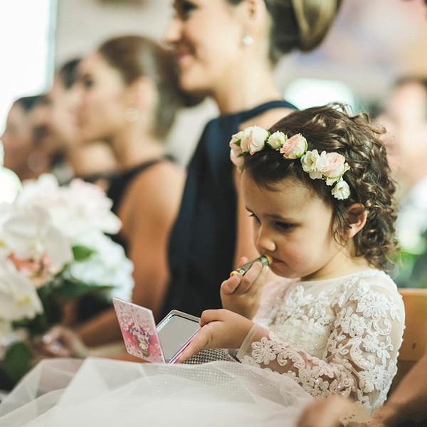 Vintage Çiçek Kız Elbise Scoop Boyun Dantel Aplike Boncuklu Düğün Q66 için Tül Örgün Yarışması Elbise Çiçek Dress