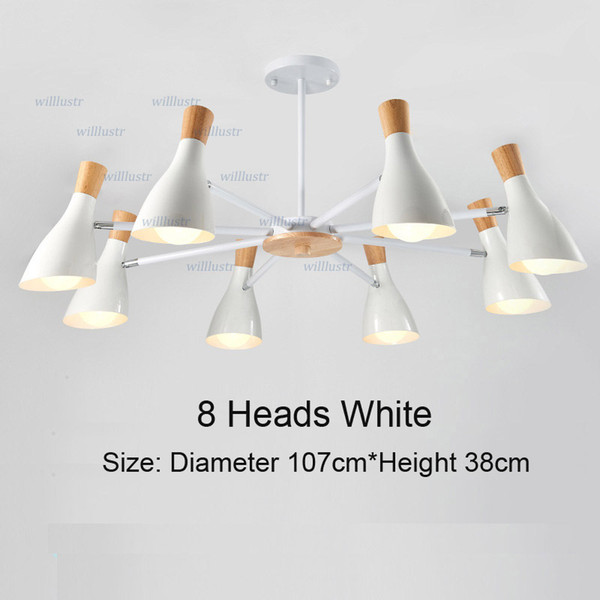8 Heads White