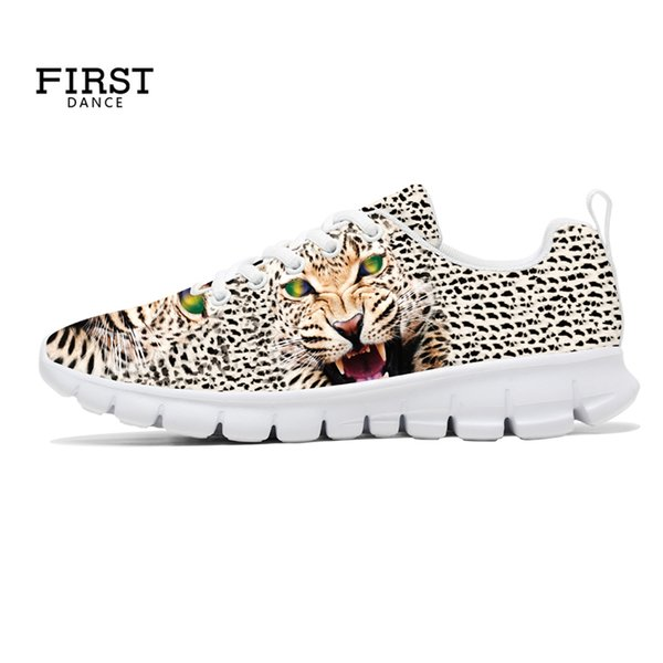 3D Animal Printing Custom Shoes DIY Your Logo Adult Girl Spring Casual Sneaker Lace Up Canvas Flats Breathable Sporting Footwear