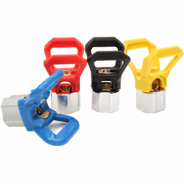 1Pc Airless Paint Contractor Flat Tip Sprayer Accessories Domestic Nozzle Universal Copper Seat Suitable For Wagner Titan