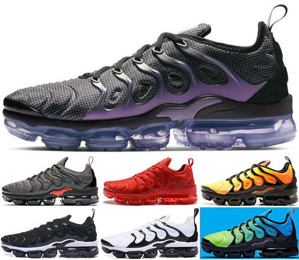 Sneakers mens Women junior shoes Men size us 12 13 Running max Kids Runners enfants tn vapors luxury air Black Youth boys Christmas present