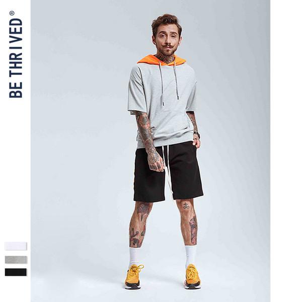 vêtements pour hommes | 2019 été marée européenne et américaine haute carte marée de rue avec la personnalisation T-shirt des hommes de garde de chapeau à manches courtes loisirs