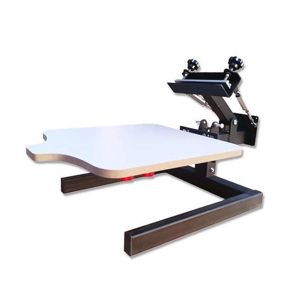 Wholesales desktop one color manual screen printing machine screen press screen printer