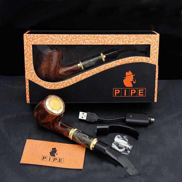 Hugo Vapor 168 E Pipe Pen Starter Kit Электронная сигарета E Встроенный Variable напряжение батареи 2.5ml картридж Atomizer 618 EPIPE Испаритель