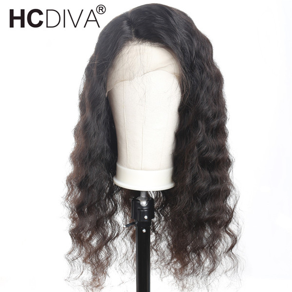 Brazilian Virgin Hair Full Lace Human Hair Wigs for Black Women Loose Wave 130% Density Lace Front Wig With Baby Hair Pre-plucked Hairline