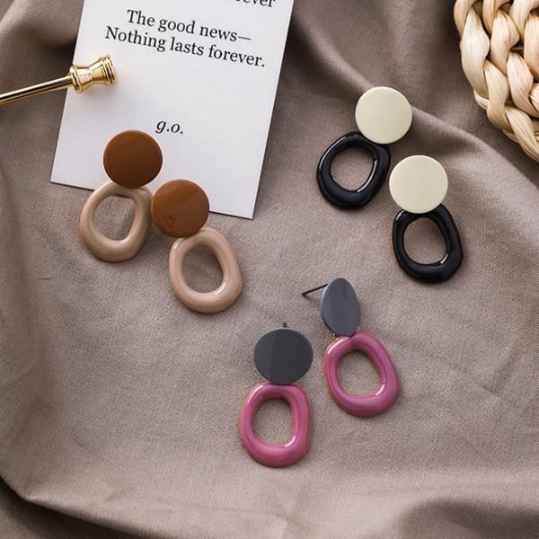 Korean Fashion Earrings for Women 2019 Earings Fashion Jewelry Trendy Dangle Earring Women Accesorios Wholeslae Jewellery Gifts