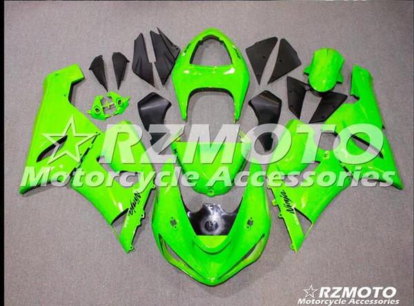 Kawasaki Ninja Için ACE Motosiklet Kaportaları ZX6R 2005 2006 ZX6R 05 06 Çeşitli renk No.73