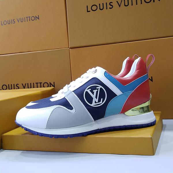 Calçados Femininos Run Away sapatilha Calçados Femininos Moda Tipo Chaussures de femme Fast Ship com Zapatos de mujer Casual Womens Shoes Box Luxo