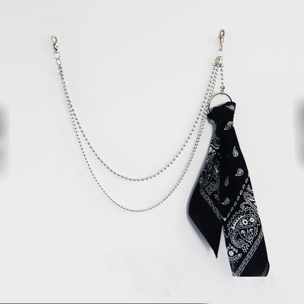 Pendant Bandana Rock Punk Trousers Hipster Key Chain Pant Jean Keychain HipHop Portachiavi Kpop Accessories