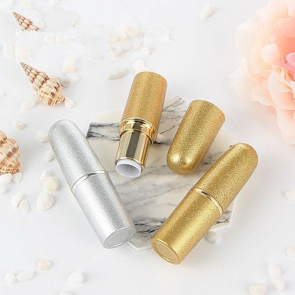 Bullet Shape Empty Lipstick Tubes Homemade Lip Balm Tube Packaging Material Inner Diameter 12.1mm Good Quality F20171957