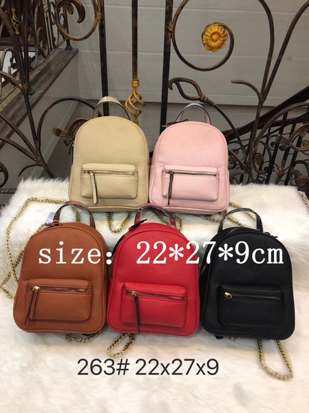 best selling 263 # designers new backpack Men and women fashion classic designer bags high quality 2019 best-selling brand backpack