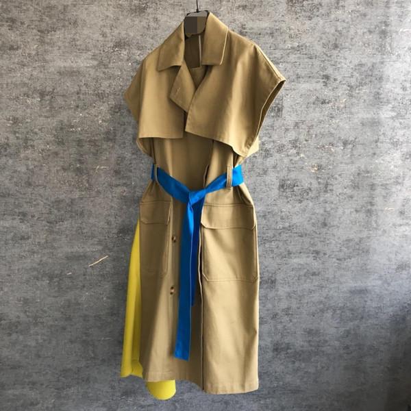 2019 nuove signore di alta qualità moda manica lunga con coulisse con cappuccio prospettiva protezione solare abbigliamento