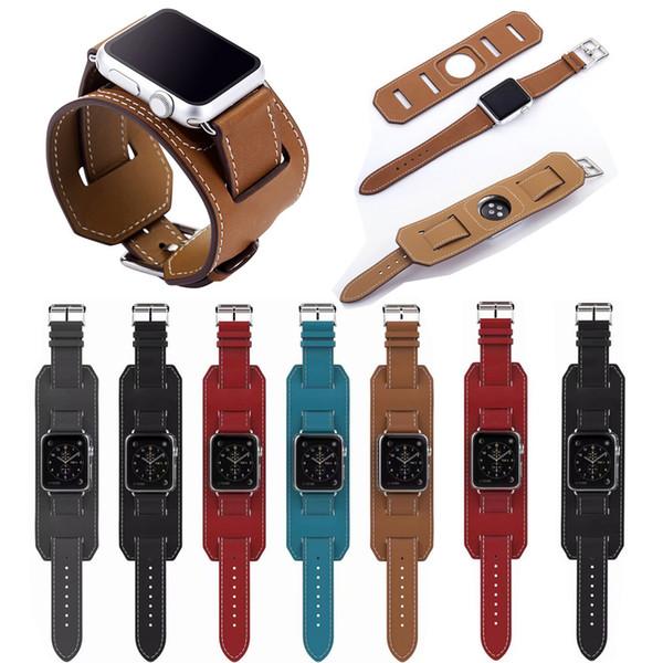 Art und Weisearmband für Apple-Uhrband lederne Schleife 42mm 38mm 40mm 44mm für iWatch Bügel Reihe 4 3 2 1