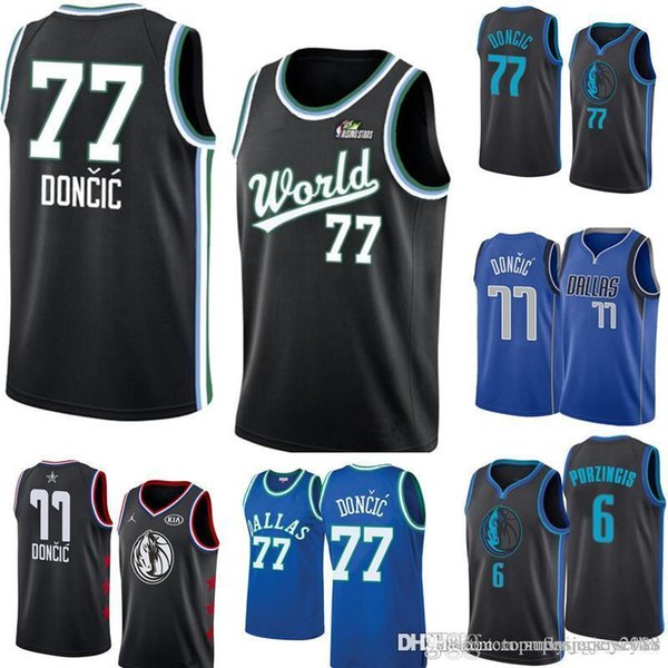 separation shoes 848ae 3179c 2019 Luka 77 Doncic Dallas New Mavericks Jersey Mens Royal Swingman Jersey  Icon Edition Embroidery Basketball Jerseys S XXL From Topmensjersey2018, ...