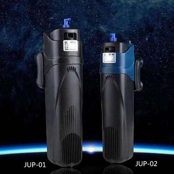 best selling SUNSUN 500L H 800L H Aquarium Fish Tank Submersible Filter Pump Algae Cleaner Ultraviolet Clarifier UV Sterilizer Light JUP-01 02