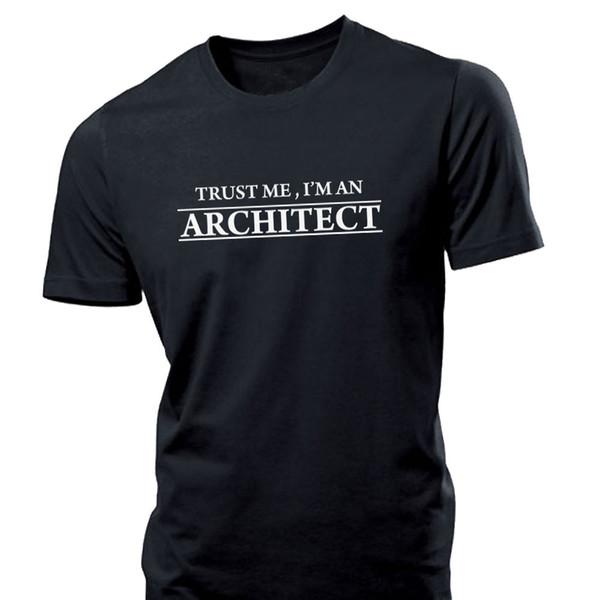 Trust Me I'm an Architect Funny Mens T Shirt brief case messenger bag
