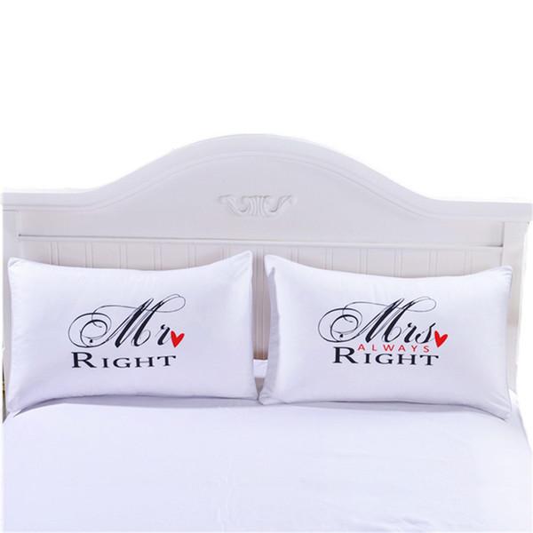 Горячие продажи в европейском стиле, просто пара печати наволочка белая кровать постельное белье подходит для четырех сезонов Бесплатная доставка