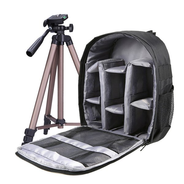 /Video Bags Andoer DSLR Bag Outdoor Small Camera Video Backpack Water-resistant Multi-functional Breathable Camera Bags