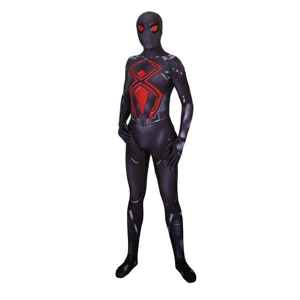 Lycra Game Spiderman Dark Suit Zentai Cosplay Costumes for Man Kids Superhero Bodysuit Catsuit Costume Cosplay customized Size