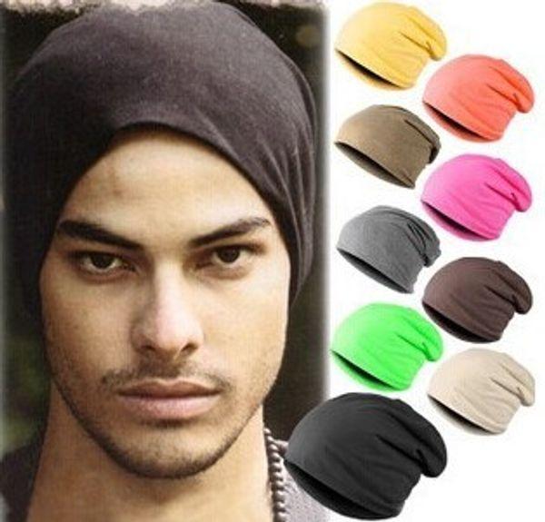Unisex Womens Mens Knit Baggy Knitted Beanie Classic Hip Hop Hat For Man Designer Skull Sports Caps Winter Slouchy Plain Chemo Hair Bonnet