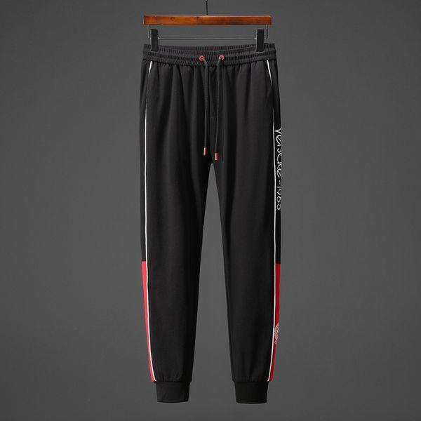 2019 novas calças de moda casual de primavera e verão. Trabalhos de impressão avançados em cores puras, qualidade de bordados em indústrias pesadas.-31
