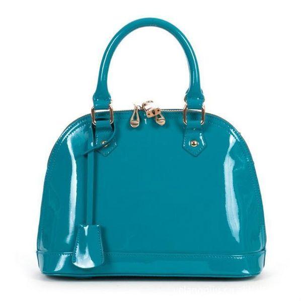 Genuine Leather Womens Handbag Messenger Bag Elegant Cowhide Fashion Shell Bag Womens Handbag