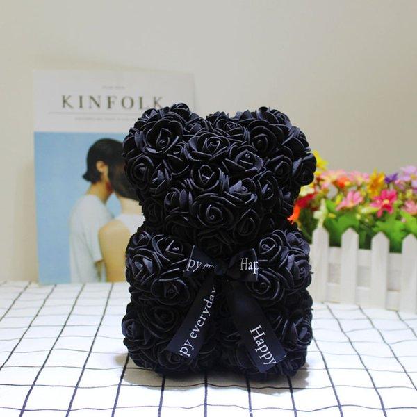 25cm blackrosebear