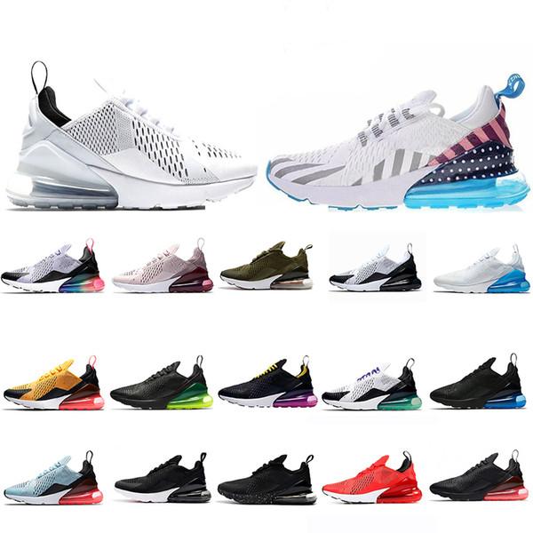 Compre Nike Air Max 270 USA SOLDER Cushion Sneaker Zapatillas De Diseñador Al Aire Libre Entrenador Off Road Star Iron Sprite 3M CNY Hombre General