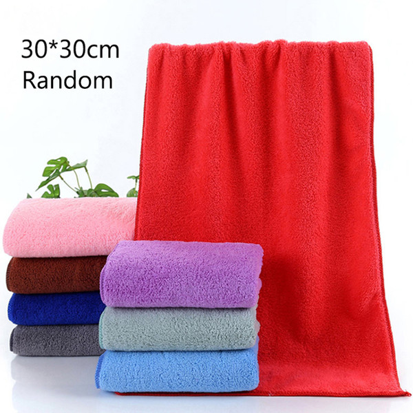 High Quality Super Warm Soft Home Textile Blanket Random Color Flannel Blanket 30*30 CM #254039