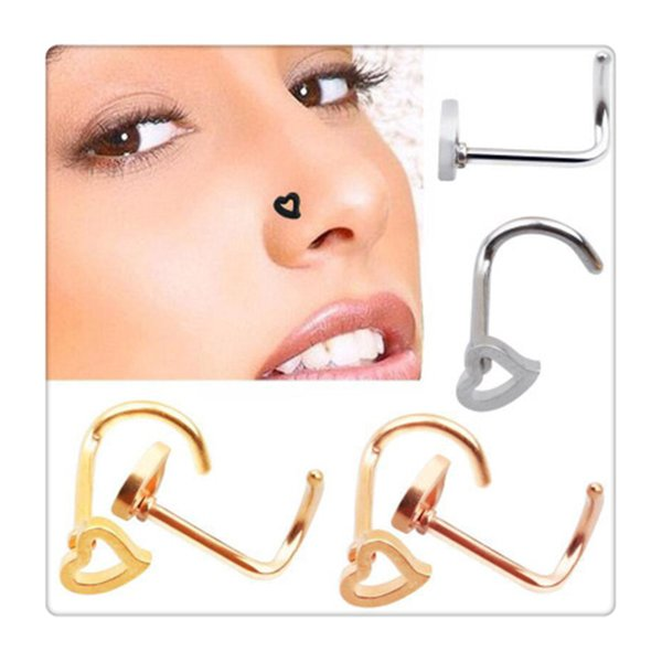 High Quality Nose Rings Hoop Body Piercing Jewelry Nose Ring Fake Septum Clicker Non Piercing Hanger Christmas Gift
