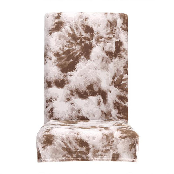 Outstanding Elastic Seat Slipcover Removable Tie Dye Graffiti Pattern Chair Cover Coffee Wedding Chair Covers For Rent Dining Room Chairs Slipcovers From Hilery Creativecarmelina Interior Chair Design Creativecarmelinacom