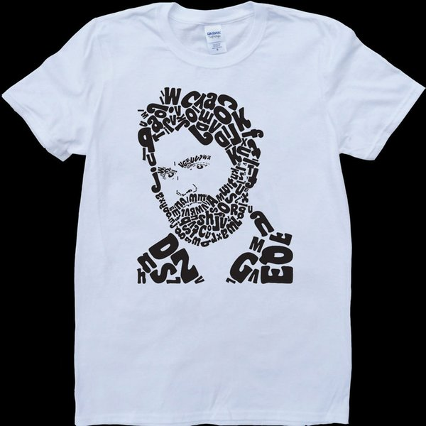 Zach Galifianakis White, Custom Made T-Shirt Short Sleeve Plus Size t-shirt
