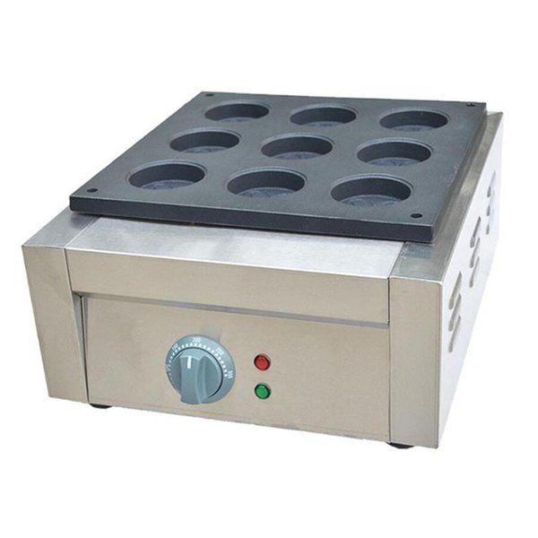 Commercial Use Non-stick Electric 9 Holes Taiwan Car Wheel Shaped Red Bean Cakes Maker Obanyaki Making machine