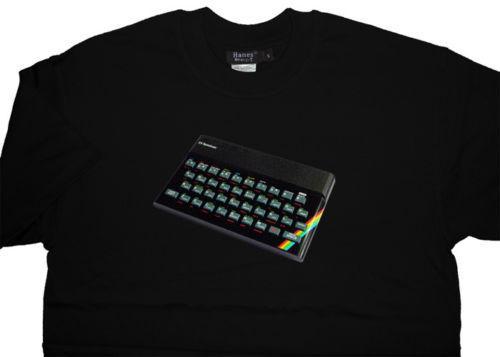 Sinclair ZX Spectrum Tişört T gömlek - Eşsiz Kaliteli Tasarım - TÜM SEÇENEKLERİ en Kaliteli Pamuklu örme rahat kumaş O-Boyun Moda