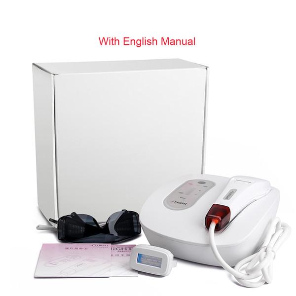 Depilação Permanente IPL Depilação a laser Depiladora Dispositivo facial SR depilação para rejuvenescimento da pele para as mulheres homem