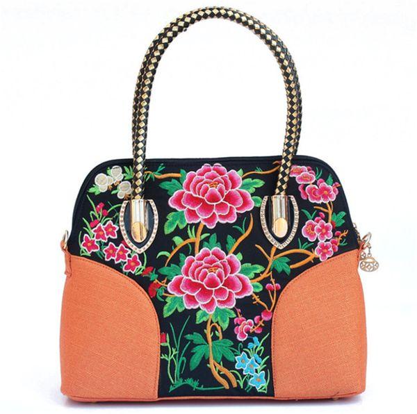 Bolsos baratos en línea para mujer Banjara Bolsos bordado bolso