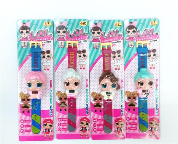 Calendrier Dessin Anime.Acheter Nouveau Dessin Anime Poupee Montre Mode Fille Electronique Calendrier Calendrier Poignet Montres Enfants Enfants Bijoux Livraison Gratuite De