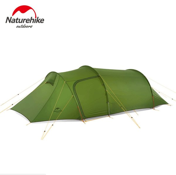 Naturehike New ultralight Opalus Tunnel double Tent outdoor camping hiking 2-3 Persons tent